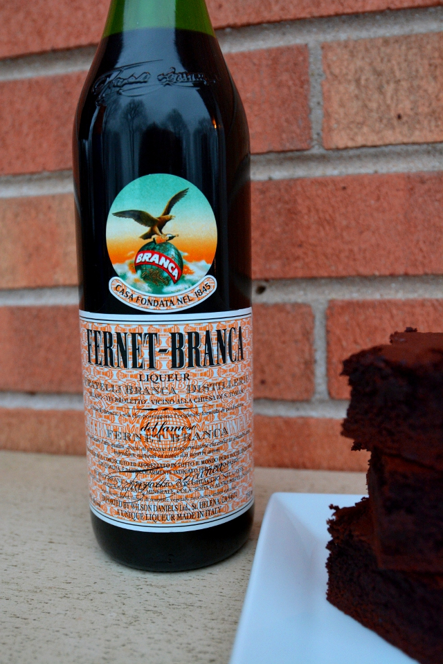 Fernet-Branca Bottle